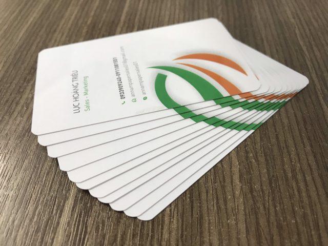 3 Cách để thiết kế in name card tốt hơn
