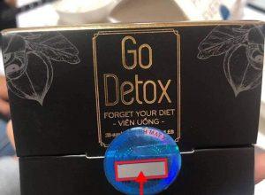 Phân biệt hàng thật hàng giả sản phẩm hỗ trợ giảm cân Godetox