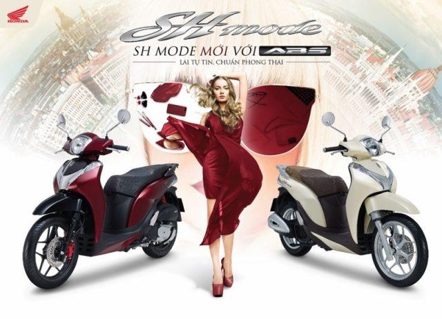 Bảng giá xe Honda SH Mode 2019 mới nhất